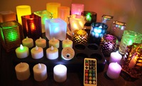 rechargeable electric tea light led candle in Dubai
