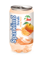 350ml Orange Sparkling Water