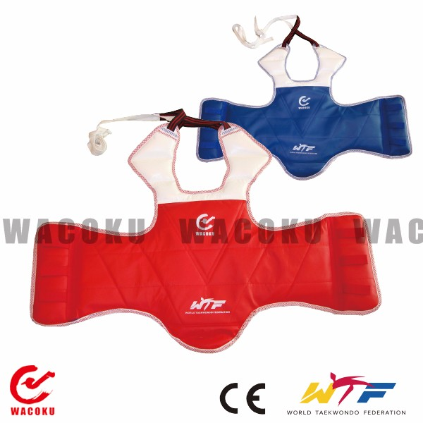 WTF approved Taekwondo chest guards / chest guard