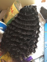 Unprocessed the most popular best selling beauty color peruvian human hair extension