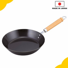 Easy to clean and simple hand pan with solid cast iron made in Japan