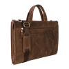 antic brown genuine leather for 13'' notebook bags