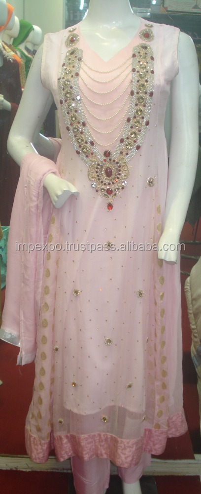 Punjabi suit hand work / Pakistani fancy wedding dress 2016 / Fancy dress pakistan