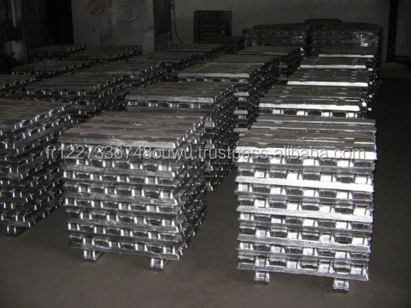 Hot Sale LME registered aluminium ingot 99.7%