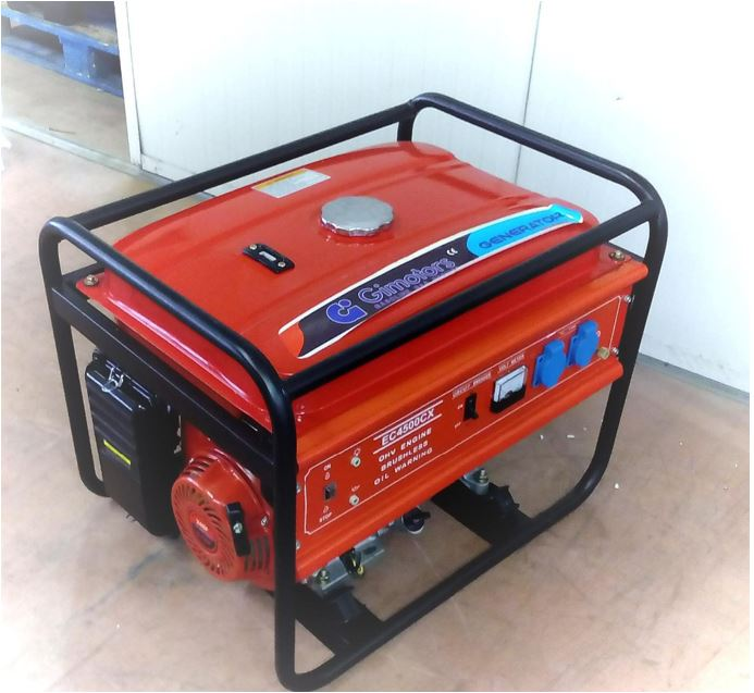 GIEC4500CX - Gasoline generator set air cooled 3500W