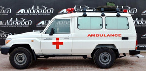 TOYOTA LAND CRUISER 78 HARDTOP AMBULANCE new