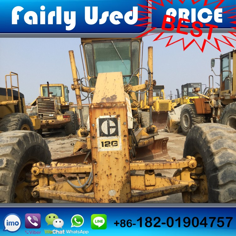 Good condition used original CAT motor grader 12g of used CAT 12g motor grader, used CAT 12g grader