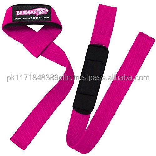 Barbell Gym Straps/100% Cotton Wrist Wraps WeightliftingTraining Support
