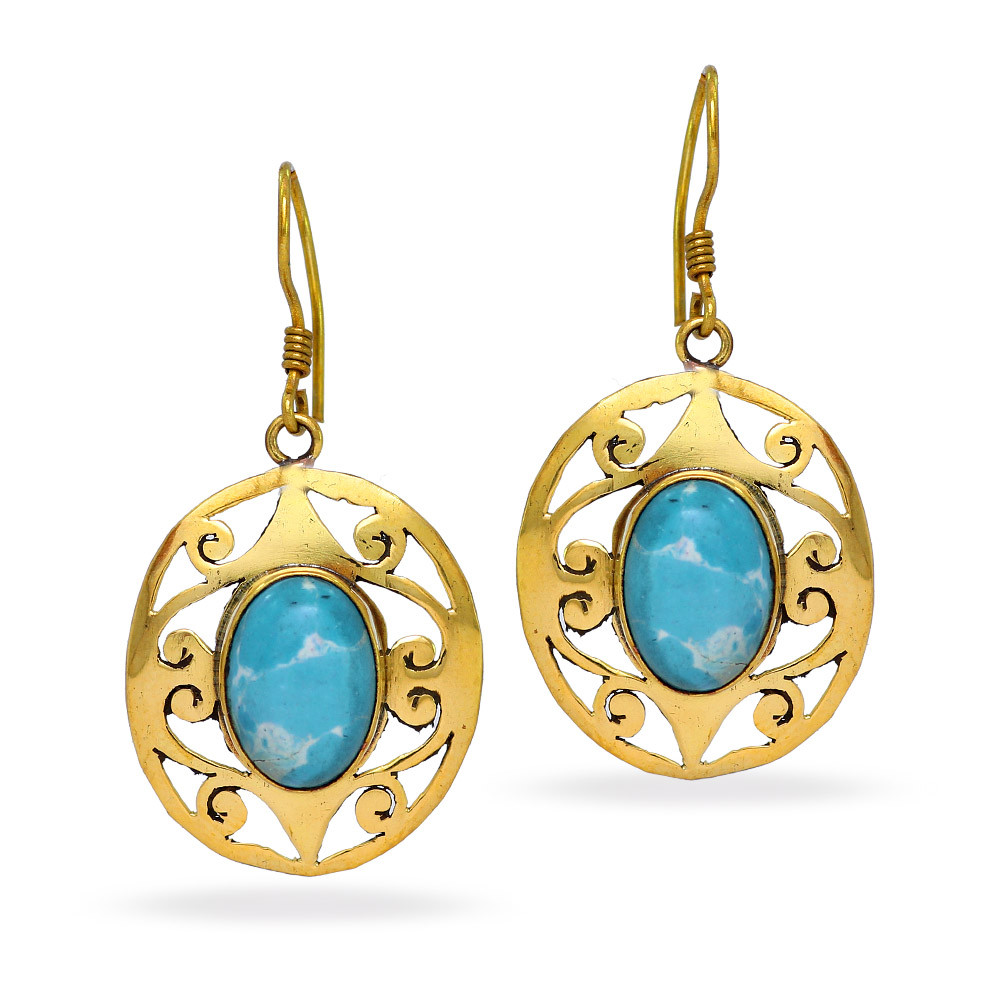 Jaipur Mart Wholesale Oxidised Earrings Gold Plated Jewelry Indian Traditional Design Dangle Earring for Fashion Women & Girls