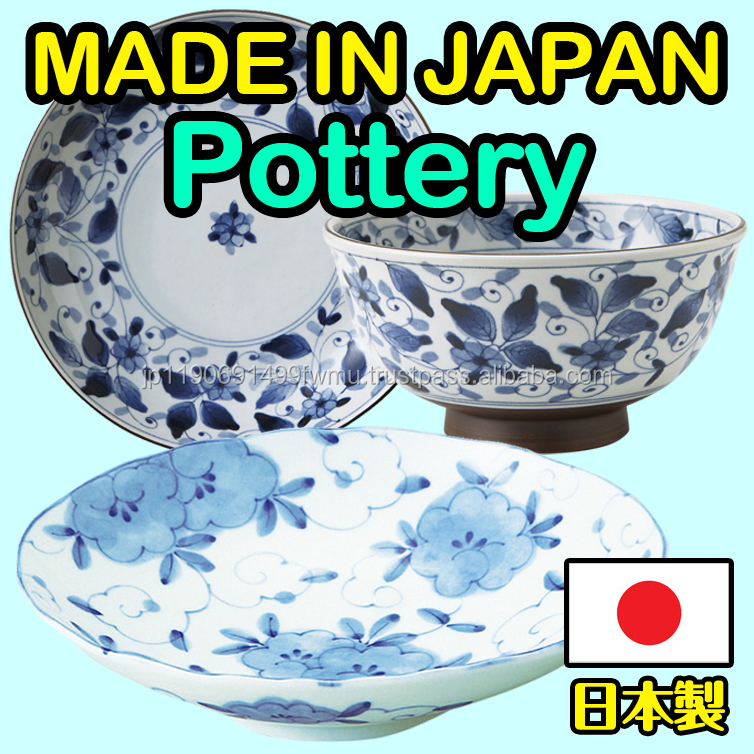 High-grade and Nutritious modern kitchen designs Traditional Japanese pottery with High quality made in Japan