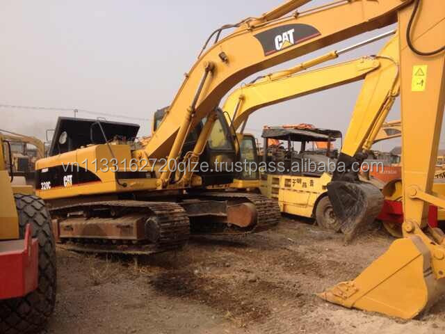 used cat 320 excavator 20 ton hydraulic excavator cat 320B 320C 320D