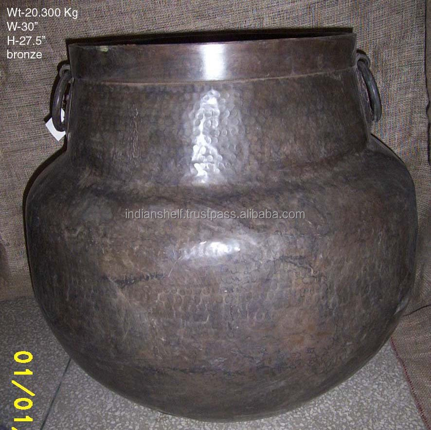 Antique brass flower pots buy at best prices on india Arts Palace