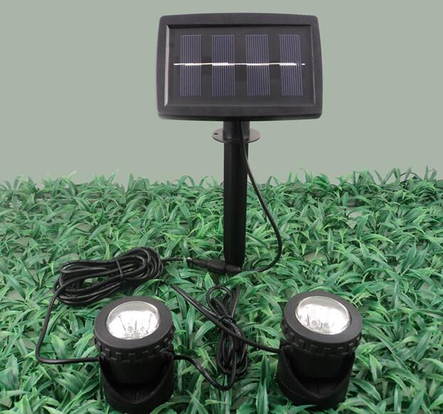 Singapore, 0.4W,Solar LED Projection Light Kit with photocell, IP68 Waterproof, outdoor solar led projecting light