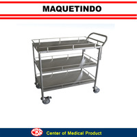 Food Trolley Open Frame For Hospital Use