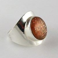 Amazing Brown !! Sun Sitara 925 Sterling Silver Ring, Fresh Silver Jewelry, Wholesale Silver Jewellry