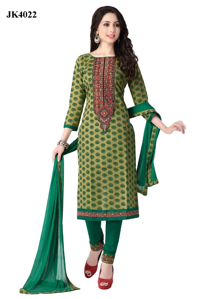 Pakistani Karachi Work Un Stitched Exclusive Cotton Salawr Kameez