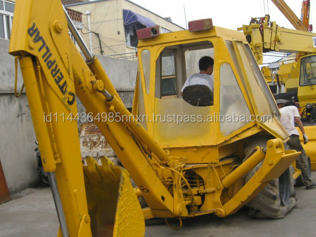 used CAT loader backhoe 426E Japanese carterpillar backhoe good performance hot sale in Shanghai