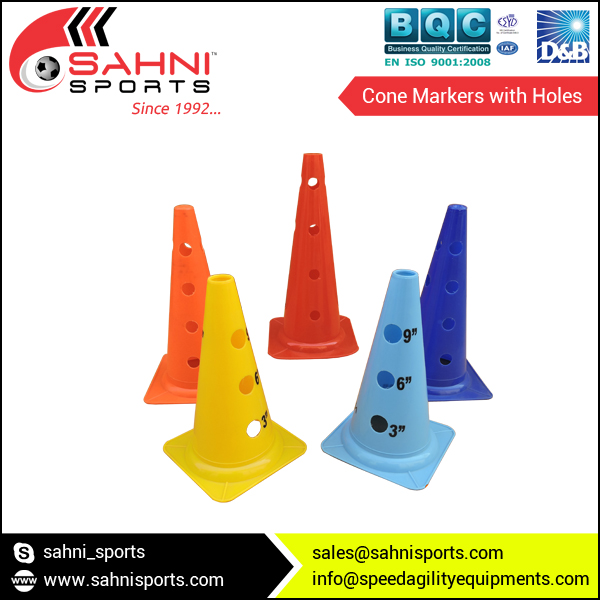 Cone Markers with Holes