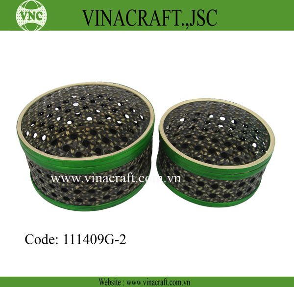 Cheap Black bamboo box from Vietnam