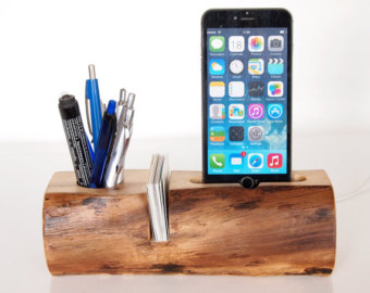 Mobile Phone Dock - Pen Holder - Card Holder - Tablet touch dock - (desk accessory)
