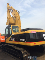 Used Caterpillar 320CL Hydraulic Track Excavator