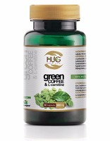 Green Coffee & L-Carnitine capsules 60x500mg extract