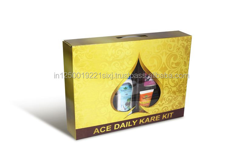 ACE DAILY CARE KIT WITH SOAP, TOOTHPASTE, SHAMPOO, TALCUM, FAIRNESS CREAM
