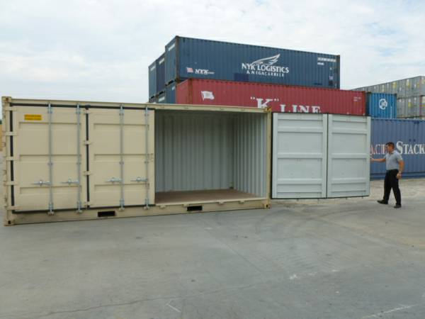 Open Side / Top 20/ 40 swing door shipping container