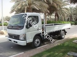 MITSUBISHI FUSO CANTER WITH FLATBED