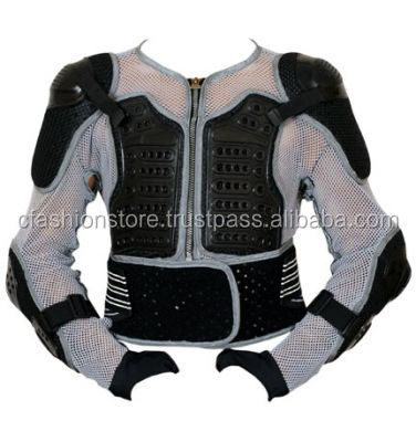 AQWA Motocross Body Armour Protection Guard Jacket CE Approved Black