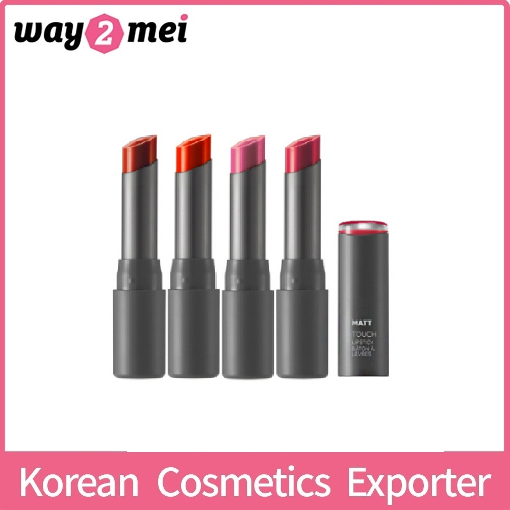Korean Cosmetics The Face Shop Matt Touch Lip Stick 4.3g