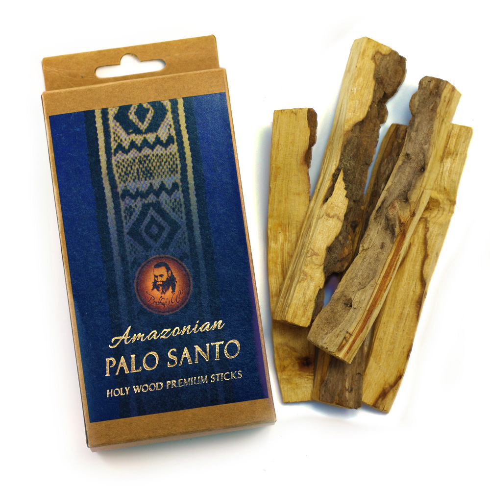 Palo Santo Wood - Premium Amazonian - 5 Sticks - Export from NY, USA - FREE Samples - No minimum order - Made by Yogis
