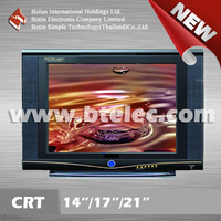 "High Brightness crt tv price 21"" crt television new"