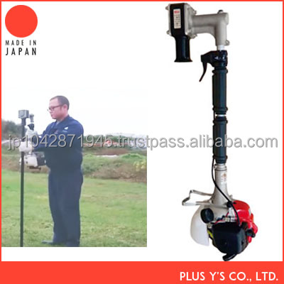 Animal prevention pile bore pile drilling machine Made in Jpaan