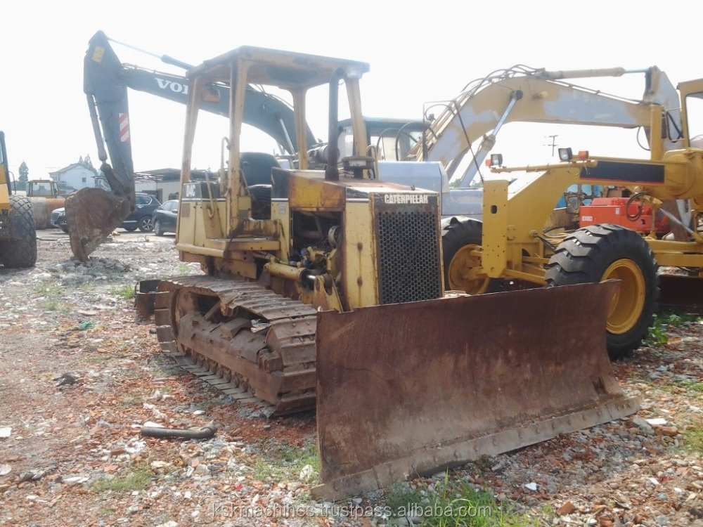 The cheap Price Used Caterpillar D4C Bulldozer For Sale