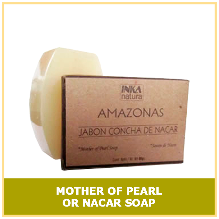 Mother of Pearl or nacar soap