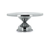 hot sale cake tray/ Christmas stainless steel cake stand