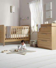 baby furniture/cribs/cots/natural crib and change table/wooden cot