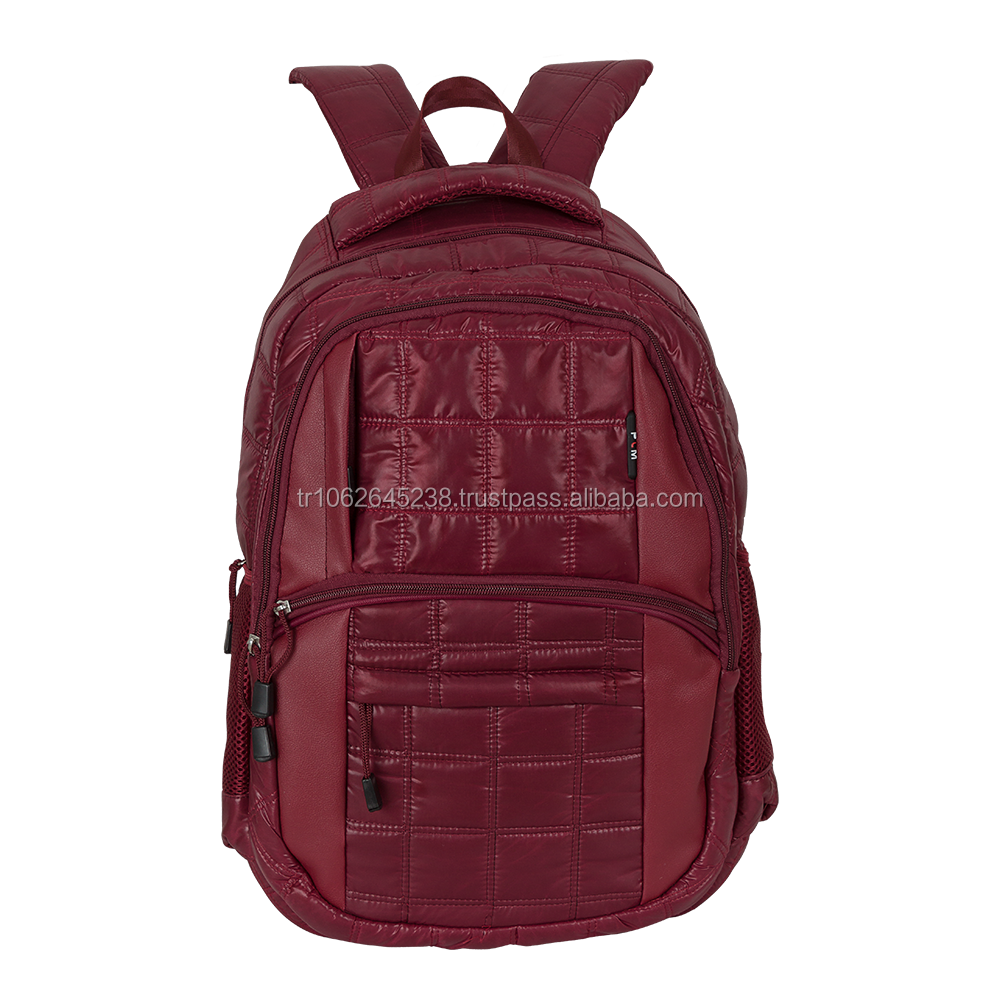 Fashionable backpack laptop bag