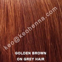 Golden Brown Hair Color, Henna Mehandi