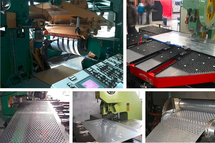 0.5mm,0.8mm,1mm,1.2mm and 1.5mm thickness metal sheet perforated exported from China
