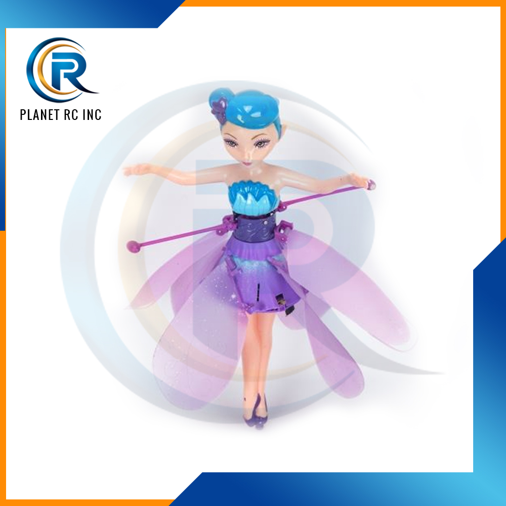 electronic flower fairy toys Battery Operated Flying Fairy toy no remote controller