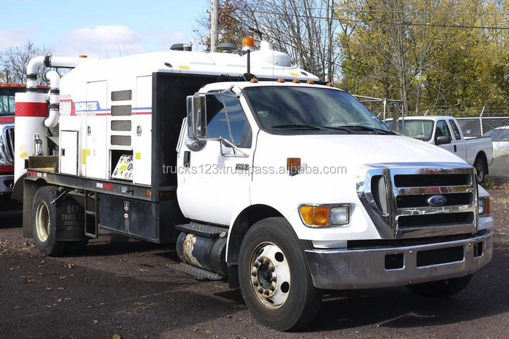8865 - 2007 FORD F650 SD; VACMASTER VNDS4000 VACUUM EXCAVATOR