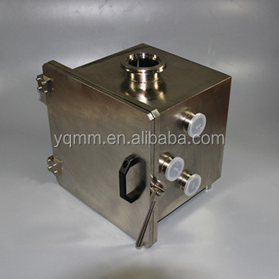 Stainless steel vacuum chamber as customer's requirement