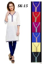 White girls Latest kurti designs for stitching