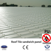 Roof Tile PU sandwich panel