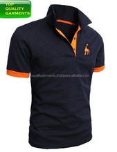 Boys polo shirt 100% cotton Tee T shirt with orange color different look for teenagers and Men half sleeve polyester OEM #3