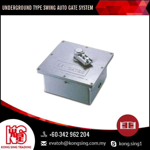 Underground Type Swing Auto Gate System For Private And Business Applications