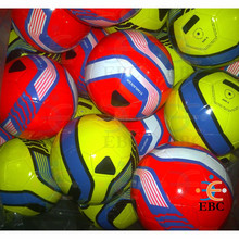2016 new design size 4 / 5 machine stitched footballs / soccer balls