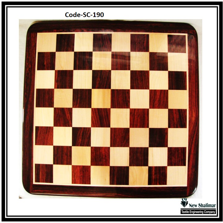 Rosewood Wooden Chess board SC190